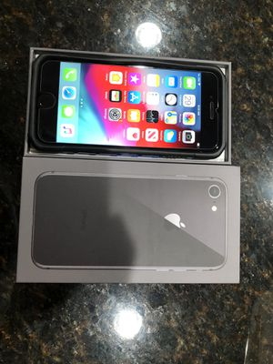 Unlocked iPhone 8 with case and cover perfect condition for Sale in Orlando, FL