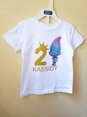 Trolls personalized birthday shirt for Sale in Tucker, GA
