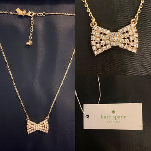 Kate spade bow tie necklace for Sale in Cedar Park, TX