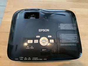 Epson WXGA Projector. for Sale in Houston, TX