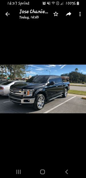 """20"""" Ford F-150 Expedition King Ranch OEM Rims Wheels Tire Chrome 2018. I have the 4 rims with tires. The tires are almost new. for Sale in Kissimmee, FL"""