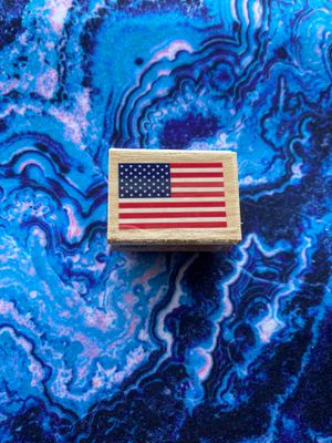 American flag rubber stamp for Sale in Bowie, MD