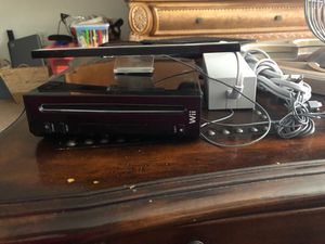Wii Console and Sensor Bar for Sale in Cary, NC