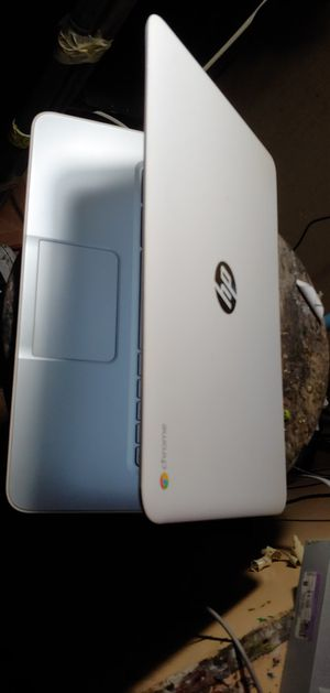 Hp 15 laptop white 100% perfect clean with charger for Sale in Phoenix, AZ