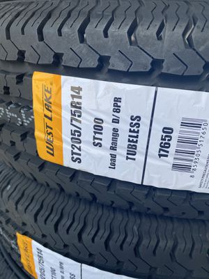 205/75/14 new tires trailer for Sale in Moreno Valley, CA