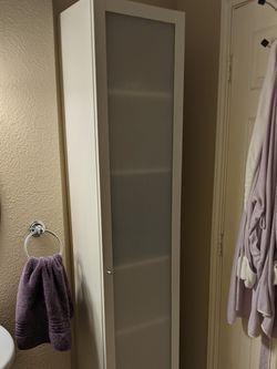 Ikea Billy Bookcase With Door for Sale in Austin,  TX