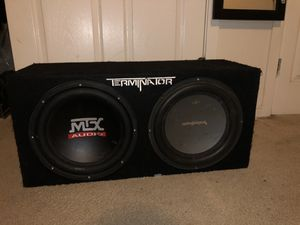 Terminator subwoofers for Sale in Silver Spring, MD