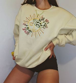 Hand embroidered Crewneck for Sale in Anaheim, CA