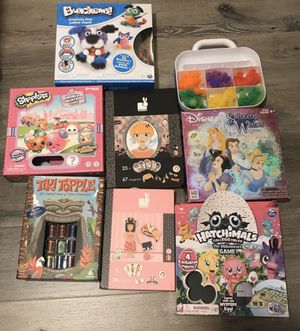 Kids Board Games, Magnetic Games & More: Hatchimals, Shopkins, Bunchems! FUN! for Sale in Temecula, CA
