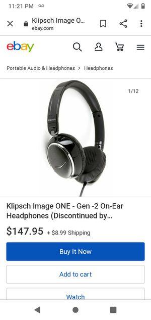 Klipsch head phones for Sale in Spokane, WA