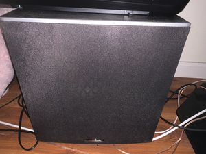 Polk 5.1 Speaker System with Receiver for Sale in Fremont, CA