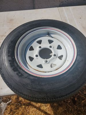 """Trailer tire 5 holes 12"""" for Sale in Las Vegas, NV"""