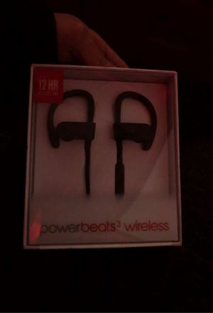 Brand new power beats 3 .. not touched or opened selling them for 80$ no negotiations that's the best price on the market!! HMU before it's sold!! for Sale in Minneapolis, MN