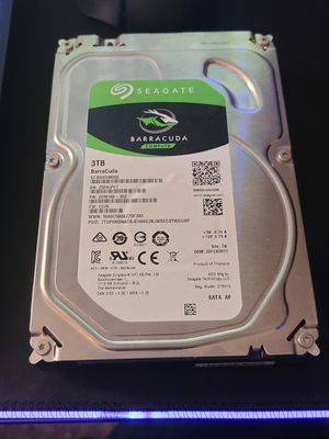 3TB barracuda computer hard drive for Sale in Lexington, KY