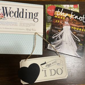 Wedding Planner, Countdown Sign, and Magazines for Sale in Oakland, CA