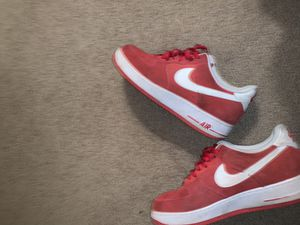 Red Air Force 1s size 13 for Sale in Cleveland, OH