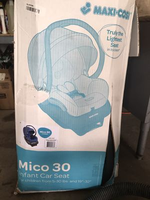 Maxi-cosi mico 30 infant car seat new for Sale in Carol Stream, IL