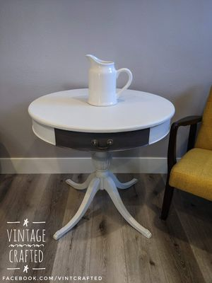 Antique drum table for Sale in Riverside, CA