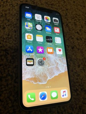 iPhone X 64gb AT&T Cricket for Sale in Tacoma, WA
