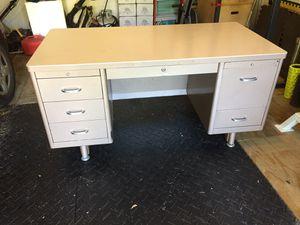 Industrial strength metal desk for Sale in Delhi charter Township, MI