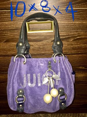 Juicy Couture Sapphire Soft Terry Cloth Hand Bag/Tote/Purse for Sale in Henderson, NV