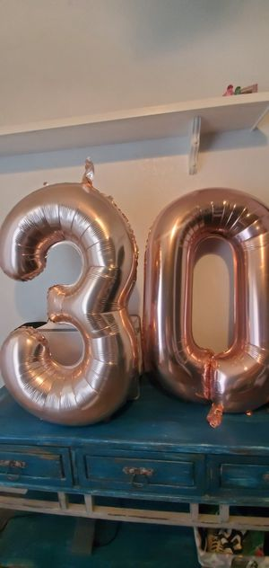 Birthday balloons 30 for Sale in Gilbert, AZ