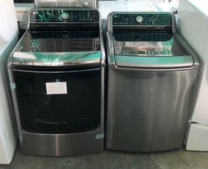LG Large Capacity Washer and Dryer Set 💥TAKE HOME FOR ONLY $39 NO CREDIT OK!💥 for Sale in Corona, CA