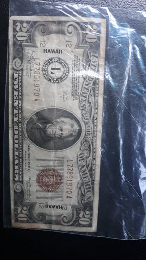 1937 A $20 for Sale in Brentwood, CA