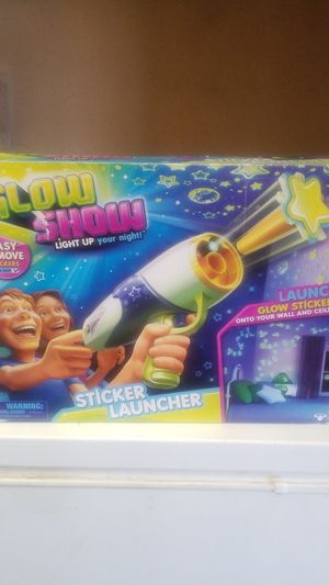 Kids glow show sticker launcher for Sale in Ontario, CA