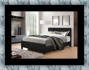 Full platform bed with box spring for Sale in Takoma Park, MD