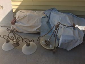 2 matching style chandeliers. for Sale in Sterling, VA