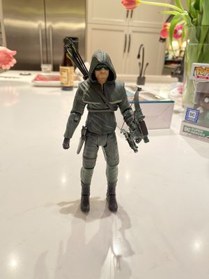 McFarlane Toys: Arrow action figure with bow for Sale in Sammamish, WA