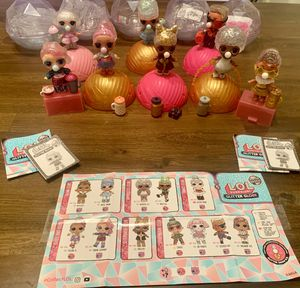 8 LOL SURPRISE Glitter Globe Dolls -BALL 2 BAG for Sale in Queen Creek, AZ