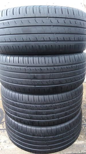 Four matching tires for sale 245/45/20 for Sale in Washington, DC