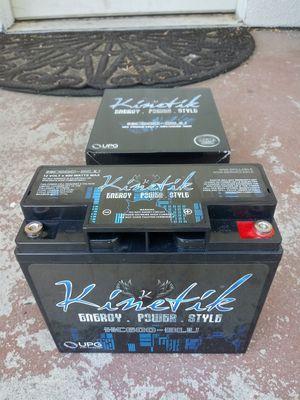 New Kinetic Car Audio Battery for Sale in Delhi, CA