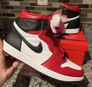 Air Jordan 1 Retro High OG Satin Snake - US Men Size 12 for Sale in Fontana, CA