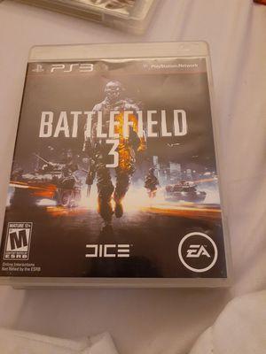 Battle field 3 ps3 game for Sale in Davis, CA