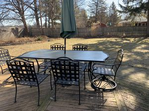 Iron Patio Furniture for Sale in Saginaw, MI