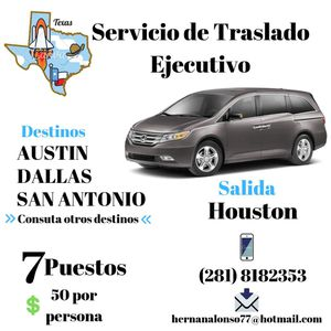 Viajes. .... private trips for Sale in Katy, TX