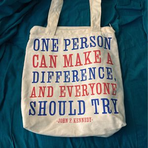 JFK Quote Bag for Sale in Greenbelt, MD