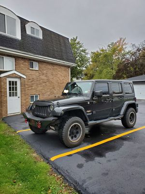2012 Jeep Wrangler Unlimited Sahara for Sale in Grand Island, NY