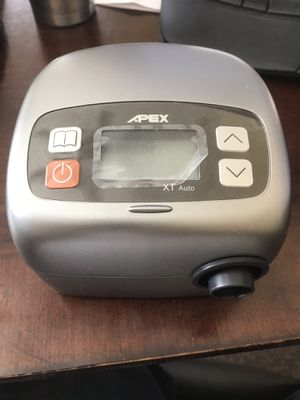 apex cpap machine. Almost brand new for Sale in Hemet, CA
