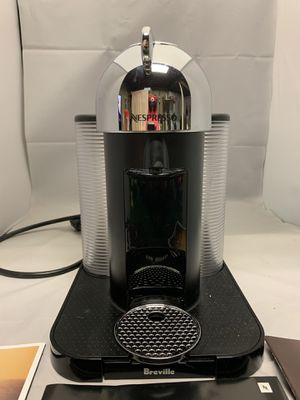 Nespresso® by Breville VertuoLine Coffee and Espresso Maker in Chrome for Sale in Cliffwood, NJ