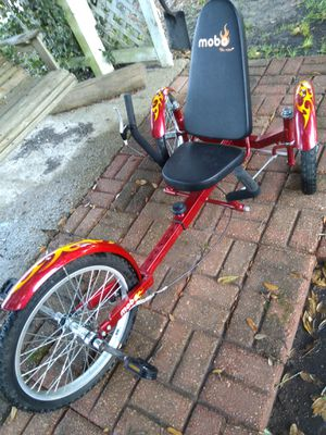 MOBO Tri-Ton 3 wheel bike for Sale in Vidor, TX