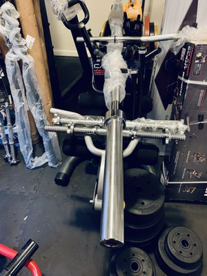 Olympic 7 foot 45 lb bar for Sale in Davie, FL