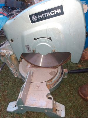 Hibitachi table miter saw for Sale in Charlotte, NC