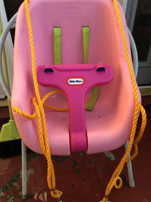 Little Tikes pink swing for Sale in Scottsdale, AZ