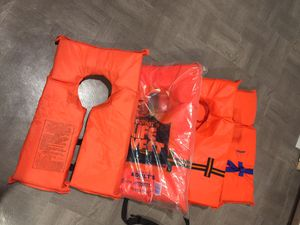 Life jackets 4 pcs. for Sale in Norridge, IL