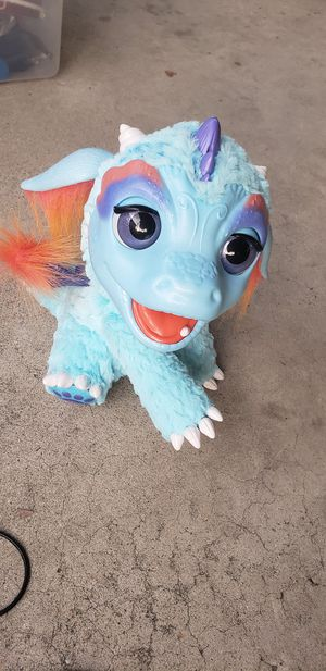 Hasbro, Furreal Friends, Torch My Blazing Dragon. Plush for Sale in Covina, CA