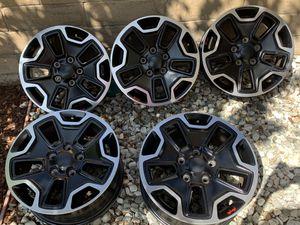 "Jeep Wrangler Rubicon Hard Rock Special Edition 17 "" Wheels for Sale in Huntington Beach, CA"